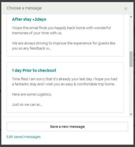 Airbnb Message Templates to Help You Save Time - Hosts & Homes